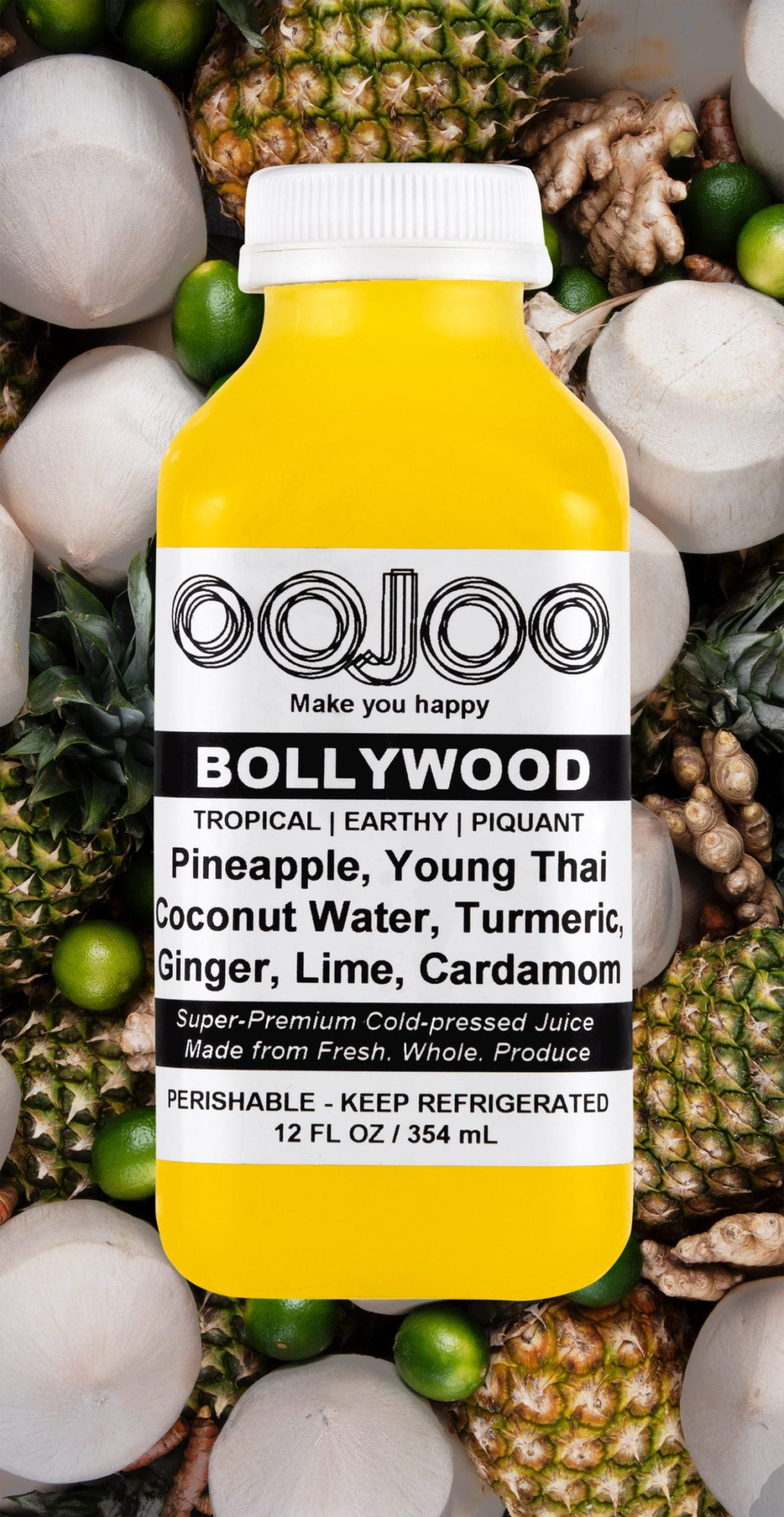 Bollywood shown with its ingredients.